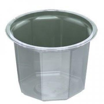 Контейнеры одноразовые пластиковые упаковочные УК-104, ППП, прозрачная, ПЩ-0,54