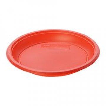 Тарелка десертная d 167 мм красная