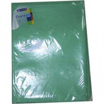 321765 Скатерть Зеленая коллекция 140*200см спандбонд 60г/м2, 1шт/уп