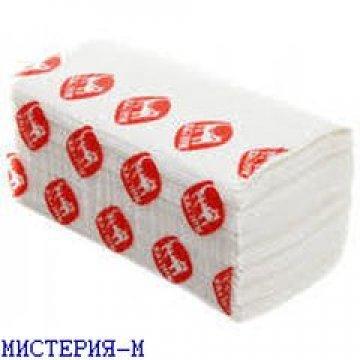 Полотенца влагопрочные бумажные ТМ Хатнiк, 100% целлюлоза,  200 листов в пачке, 15уп /меш