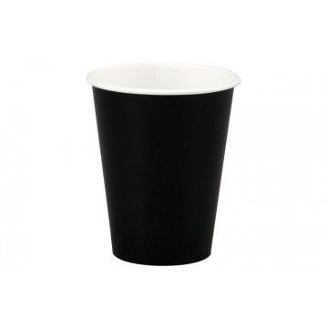 350/400мл Стакан бумажный Чёрный(50шт/уп) Д90мм (50/1250)