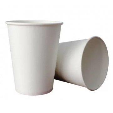 350/400мл Стакан бумажный Белый (50шт/уп) Д90мм (50/1000)