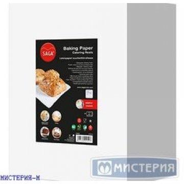 Бумага д/выпечки в рулоне 57 см х 200м  (Saga Baking), вес рулона 4,87кг 1 рул /упак 1 упак/кор