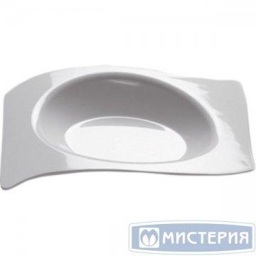 Форма д/фуршетов, 10мл, 66х80мм,, Forma, бел., ПС 50шт./уп 10упак/кор