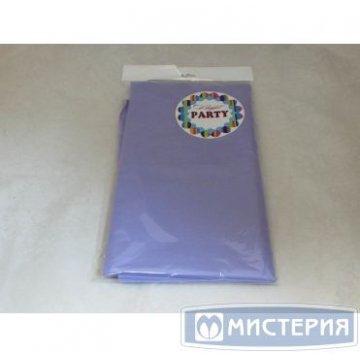 Скатерть 140х200см, сиреневая, СМС 1шт./уп. 40шт/кор
