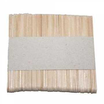 Деревянная палочка для размешивания напитков (буковая) 140х5х1,25 (1х1000шт)(35)