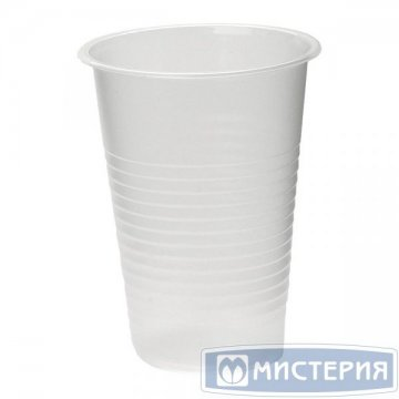 Стакан 0,2л неокрашенный 100шт в упаковке, 40уп/кор