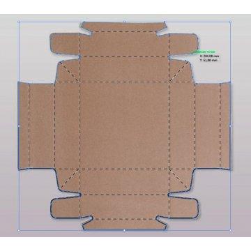 Крой коробочный Торт Заказной 3-5кг (Дно)