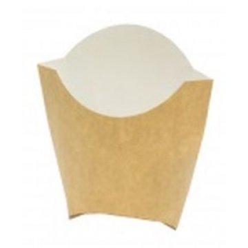 Коробка для картофеля ФРИ большая (500шт/кор) Крафт