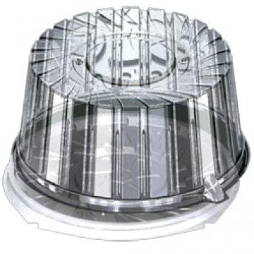 Контейнеры одноразовые пластиковые упаковочные УК-290Н, ППП, черная, ПЩ, 400шт/кор