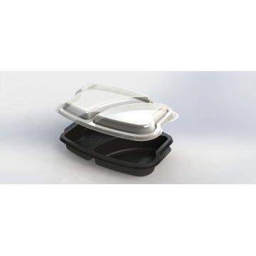 Контейнер КД-403 Ланч-бокс(крышка)прозрачная 250 шт/кор