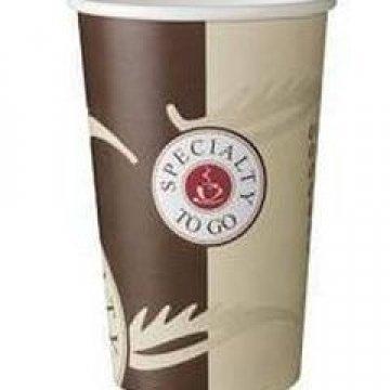 Стакан бумажный 400 мл(1000шт/кор)(Coffee, 400/D90xD60xH135)