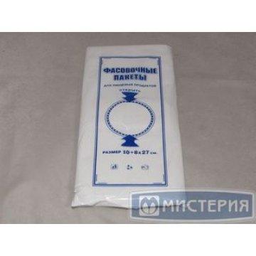 Пакет фасов. ПНД 10+8х27см (евроуп.) 1000 шт./уп. 20000 шт/кор