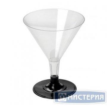Бокал д/мартини, 0.1л, кристалл, ПС 6 шт/уп 32 уп/кор