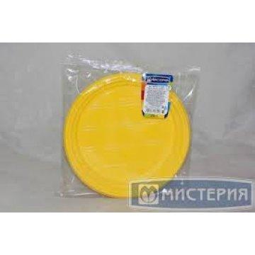 Тарелка d 205мм, жёлт., ПС 12 шт/уп 80 упак/кор