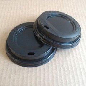 TLS-90 (Н) крышка черная (с отверстием для питья)(1000шт/кор)
