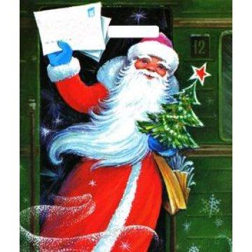 Пакет (мешок) 38х45см 60мкм, прору Волшебное письмо, ламинат, ПВД 50 шт./уп. 500  шт./кор