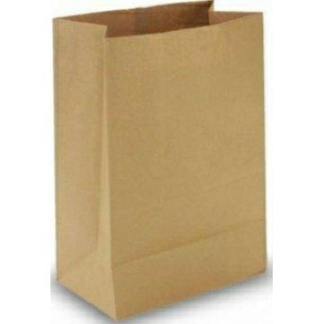Пакет 340*260*150 крафт (плоское дно) коричневый 300шт/кор