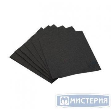 Салфетки 24х24см, 1 сл., чёрн., Бумага 400 лист/уп 18 уп/кор.