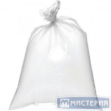 Мешок д/мусора 120л (50+20)x110см 55мкм прозрачный ПВД 25шт/уп 25 шт/кп 300 шт/кор РОССИЯ 460551л