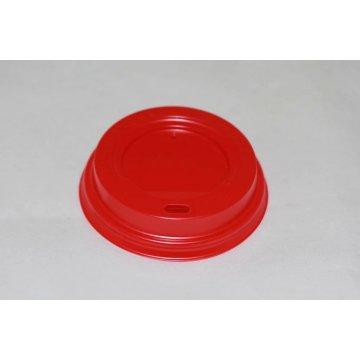 Крышка с пит. 90 мм КД-202 (красная) 100шт/уп 1000шт/кор