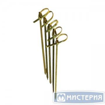Пика Узелок, бамбук, 90мм 100 шт/уп 40 уп/кор