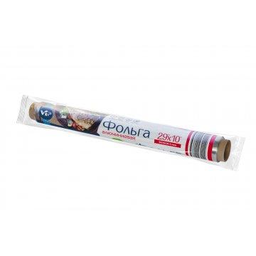 Фольга алюминиевая пищевая Эконом 29 см*10м (36) этикетка 36шт/кор