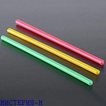 Трубочки д/коктейля гофр. цветные d-8мм L-240мм ПП 250ш/уп 20уп/кор