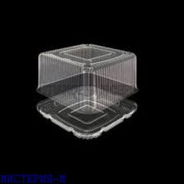 Упаковка полимерная (из биаксиальноориентированных материалов): тортница УП-Т-271В  180шт/кор