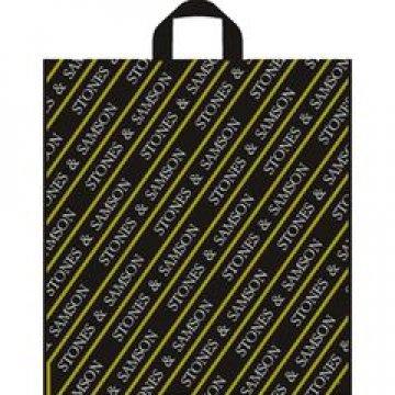 Пакет петля  43х47.5 см ПВД Камни Самсона цветной(2 цвета) 50 шт/уп 300 шт/кор