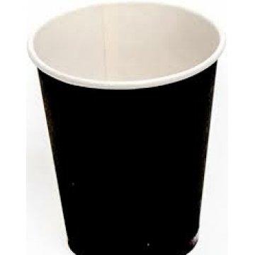 350/400мл. Стакан бумажный Черный (50шт./уп.) Д90мм. (50/1000)