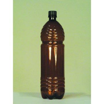 Бутылка коричневая из ПЭТ 1.5 дм3 (упаковка 91шт)