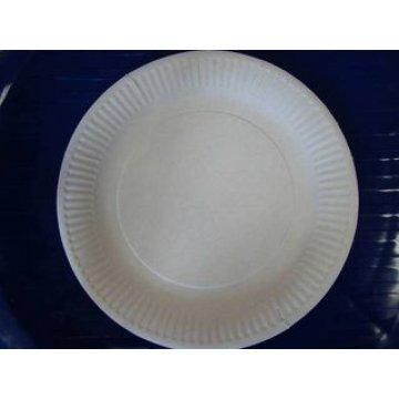 Тарелка d 230мм, ECO PLATE, крафт, картон 100  шт/уп 600шт/кор