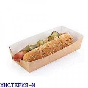 Упаковка для хот-догов, картофеля фри 165*70*40, ECO HD 600 шт./уп. 600 шт./кор.