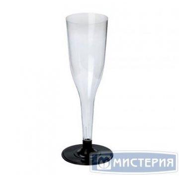 Фужер д/кокт. и шамп., 0.1л, флюте, кристалл, ПС 6 шт/уп 10 уп/кор