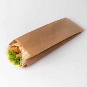Пакет бумажный  175*100*50  крафт 3000шт/кор