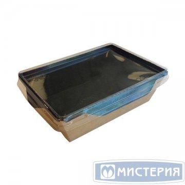 Контейнер внеш. 150х150х50мм,ECO OpSalad 900 Black Edition, картон 50 шт/упак 150 шт/кор