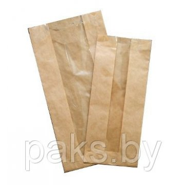 Пакет бумажный VB 175*100*50  крафт 3000шт/кор