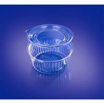Контейнер для салатов,  круглый, D- 162 мм, прозрачн., БОПС 500 шт./уп. 500  шт./кор