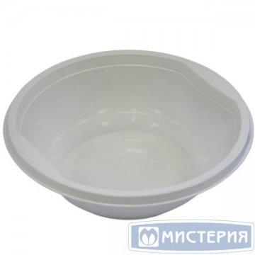Тарелка глубокая 0,475 л, белая, 50шт/уп 20уп/кор. пленка с печатью