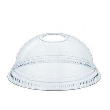 Крышка пластиковая купольная д.78мм с отверстием 1*50шт