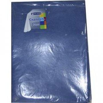 321763 Скатерть Синяя коллекция 140*200см спандбонд 60г/м2, 1шт/уп