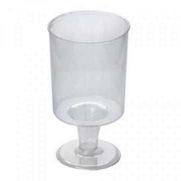 Рюмка 100мл прозр. (432шт/кор) кристалл, ПС, 18шт/уп, 24уп/кор