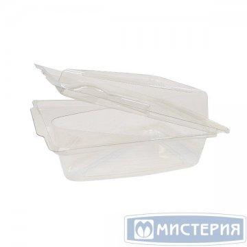 Упаковка д/сегмента торта,треуг, внеш. 155х105х69мм,внутр.120х79х60мм,прозр,ПЭТ 100шт/уп 400шт/кор