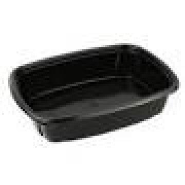 Контейнер Ланч-бокс СпК-230-50мм черный 1000 мл (К 100, Ф50)