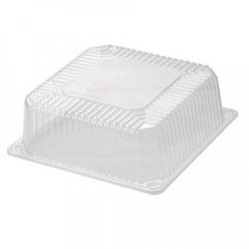 Упаковка для торта, квадр. внеш.238х238х98мм, внутр.213х213х88мм, ОПС, Т-214К  270 шт/уп  270 шт/кор