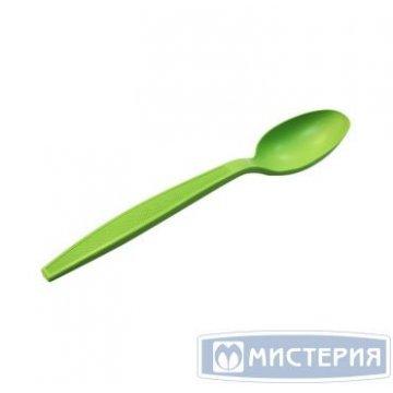 Ложка биоразлагаемая  17 см зеленая Complement 50шт/уп