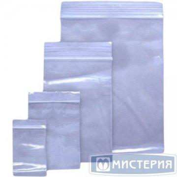 Пакет Zip-Lock ПВД 15х22см 35-40мкм 1000  шт/уп 4000 шт./кор
