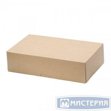 Коробка DoEco 230х140х60мм ECO CAKE 1900, белый 300 шт./уп 300 шт./кор