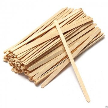 Размешиватель деревянный 140*5,5*1,5мм 1000шт/уп 28уп/кор